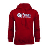 Cardinal Fleece Hood-Penn Softball Script