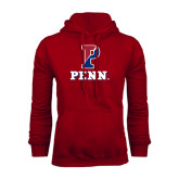 Cardinal Fleece Hood-P Penn Stacked