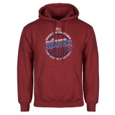 Cardinal Fleece Hoodie-2018 Ivy League Mens Basketball