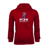 Cardinal Fleece Hood-Baseball
