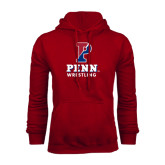 Cardinal Fleece Hood-Wrestling