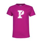 Youth Fuchsia T Shirt-Split P
