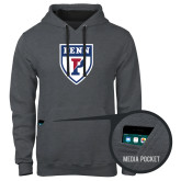 Contemporary Sofspun Charcoal Heather Hoodie-PENN Shield