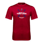 Syntrel Performance Cardinal Tee-Pennsylvania Baseball Seams
