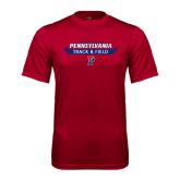 Syntrel Performance Cardinal Tee-Pennsylvania Track & Field Banner