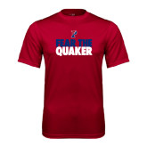 Syntrel Performance Cardinal Tee-Fear The Quaker