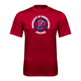 Syntrel Performance Cardinal Tee-Soccer Circle