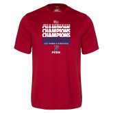 Syntrel Performance Cardinal Tee-2017 Ivy League Womens Basketball Champions