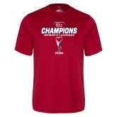 Syntrel Performance Cardinal Tee-2017 Ivy League Womens Lacrosse Champions