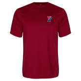 Performance Cardinal Tee-Split P