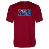 Performance Cardinal Tee-Penn Lacrosse