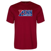 Performance Cardinal Tee-Penn Swimming and Diving