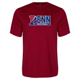 Performance Cardinal Tee-Penn Sprint Football