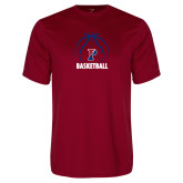 Performance Cardinal Tee-Penn Basketball Under Ball