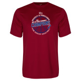 Performance Cardinal Tee-2018 Ivy League Mens Basketball