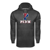 Under Armour Carbon Performance Sweats Team Hood-P Penn Stacked