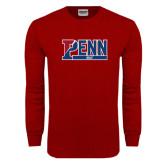 Cardinal Long Sleeve T Shirt-Penn Golf