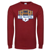 Cardinal Long Sleeve T Shirt-The Palestra