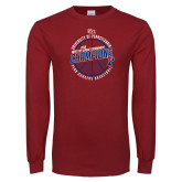 Cardinal Long Sleeve T Shirt-2018 Ivy League Mens Basketball