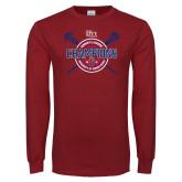 Cardinal Long Sleeve T Shirt-2018 Womens Lacrosse Championship