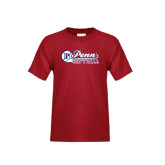 Youth Cardinal T Shirt-Penn Softball Script