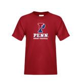 Youth Cardinal T Shirt-Sprint Football