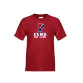 Youth Cardinal T Shirt-Field Hockey