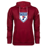 Adidas Climawarm Cardinal Team Issue Hoodie-PENN Shield