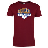 Ladies Cardinal T Shirt-The Palestra