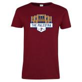 Ladies Cardinal T Shirt-The Palestra