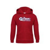 Youth Cardinal Fleece Hood-Penn Softball Script
