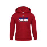Youth Cardinal Fleece Hood-Fear The Quaker