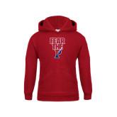 Youth Cardinal Fleece Hood-Fear The P