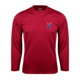 Syntrel Performance Cardinal Longsleeve Shirt-Split P