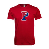Next Level SoftStyle Cardinal T Shirt-Split P
