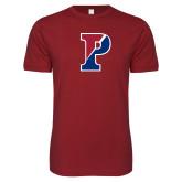 Next Level SoftStyle Cardinal T Shirt-Split P