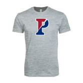 Next Level SoftStyle Heather Grey T Shirt-Split P