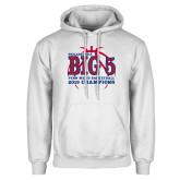 White Fleece Hoodie-Big 5 Champions 2019