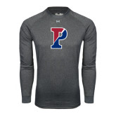 Under Armour Carbon Heather Long Sleeve Tech Tee-Split P