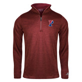 Russell Cardinal Heather 1/4 Zip-Split P