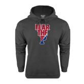 Charcoal Fleece Hood-Fear The P