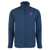 Navy Softshell Jacket-Split P