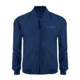 Navy Players Jacket-PENN Wordmark