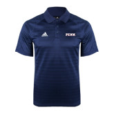 Adidas Climalite Navy Jaquard Select Polo-PENN Wordmark