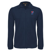 Fleece Full Zip Navy Jacket-Split P