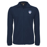 Fleece Full Zip Navy Jacket-PENN Shield