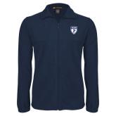 Fleece Full Zip Navy Jacket-PENN Shield