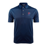 Navy Dry Mesh Polo-Split P