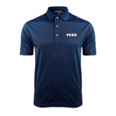 Navy Dry Mesh Polo-PENN Wordmark