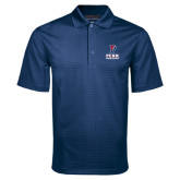 Navy Mini Stripe Polo-Cheerleading